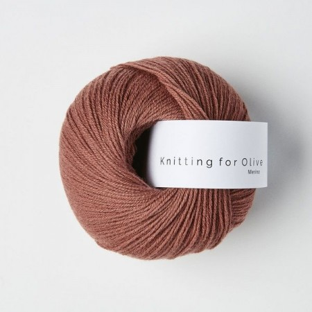 Knitting for Olive Merino - Blommerosa / Plum Rose