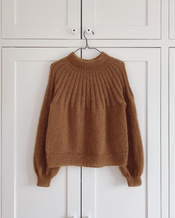 Sunday Sweater Mohair edition | PetiteKnit | Oppskrift